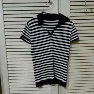 🚚 【售/換】⏰全面出清⏰條紋針織衫#可換物#半價衣服拍賣會