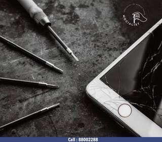 IPhone Crack Screen Repair , iPhone LCD Crack Repair