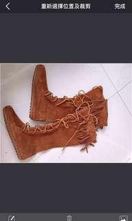 全新Minnetonka靴boots ucc雪地靴timberland秋冬女靴女鞋