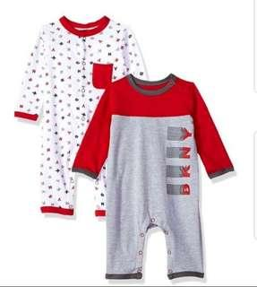 *9M* BN DKNY Coveralls For Baby Boy