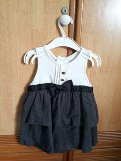 Baby dress with coat