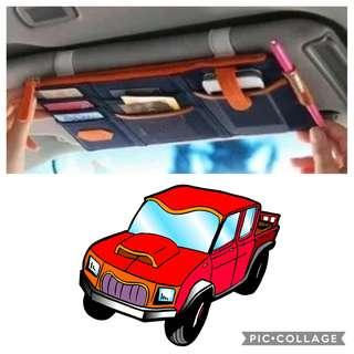 Van Accessories: Van Sun Visor Organiser/Commercial vehicle SunVisor Organiser-[Blue]-Self-Collect@Toa Payoh ind park in Weekdays 10am to 4pm + Separate Charge for Local Mail $1.50
