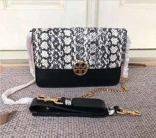 Authentic of TORY BURCH Snake skin