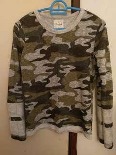 Miss Cindy Camo Sweatshirt #MY1212