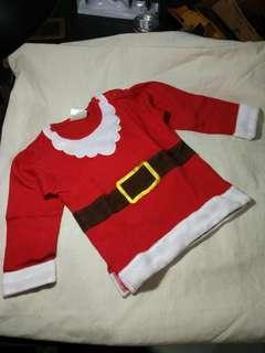 baju natal bayi dan anak