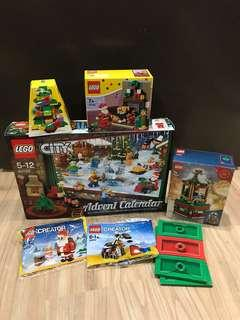Assorted LEGO Christmas Sets