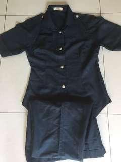 CISCO Uniform Top (L) & Bottom (XL) (lady)