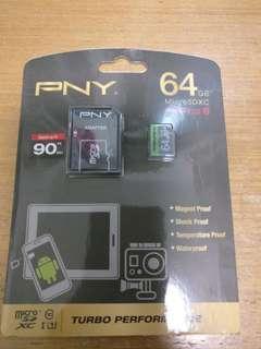 PNY 64g micro SDXC