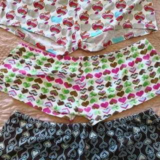 Short Shorties for House (Set of 3)