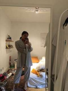 VINTAGE - Oversized pantsuit