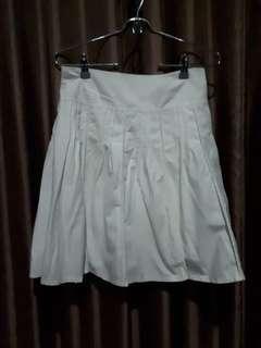 Preloved White Skirt