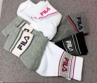 Fila 女裝袜  一包七對