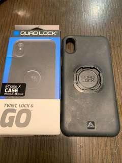 Quad lock iPhone X