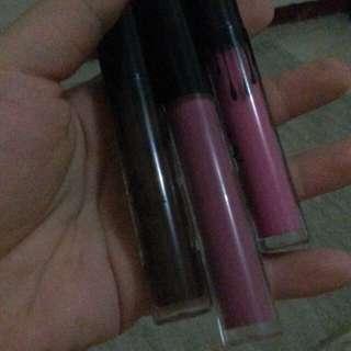 Kylie matte lipcream 3pcs (BUNDLING)