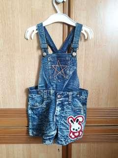 Strap short Jean