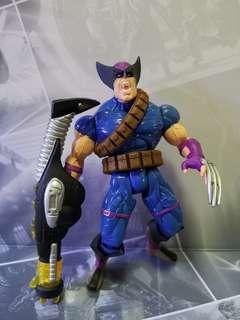 x-men 90s 狼人 wolverine (無包裝盒)