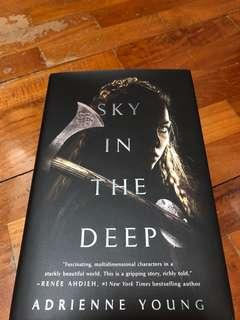 SIGNED Sky in The Deep by Adrienne Young (Owlcrate Exclusive Edition)