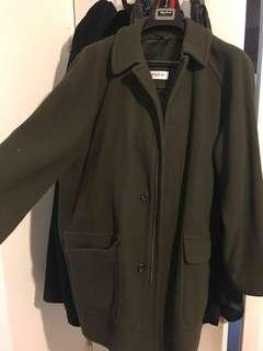 BAREZZI EMERALD COAT