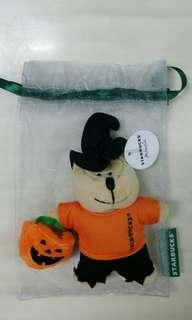 Starbucks Halloween Bear exclusive from malaysia