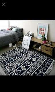印地安原木玩具帳篷配件 方形地墊 地毯 遊戲墊 曼陀羅 沙發巾 蓋毯 北歐風