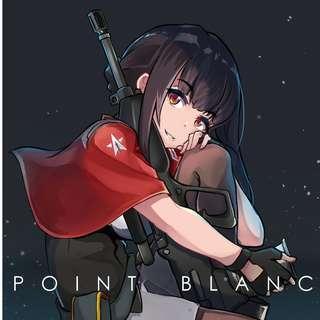POINT BLANC- A Girls' Frontline Original Character Artbook (BUNDLE)
