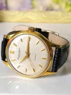IWC 18k Gold Automatic Watch