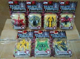 Transfomers 2 變形金剛,大力神7合1