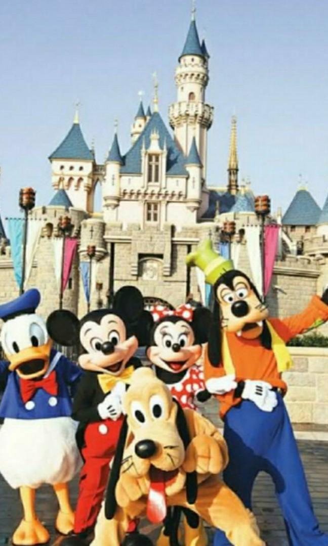 香港迪士尼樂園門票多張