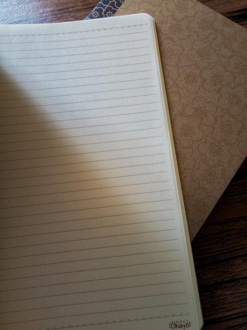 Aesthetic Notebooks Buku Tulis Note Bergaris Buku Alat Tulis Alat Tulis Di Carousell