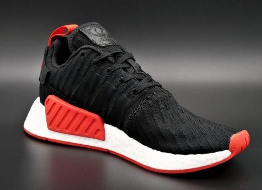 56e60919296f1 Adidas Boost NMD R2 PK Black Red