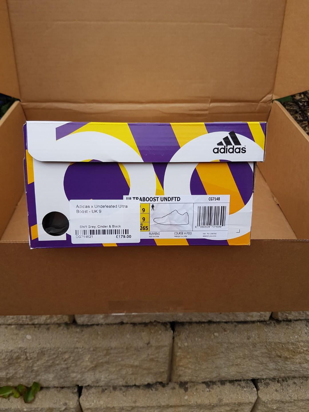 ADIDAS UNDEFEATED ULTRA BOOST shoes undftd Adidas