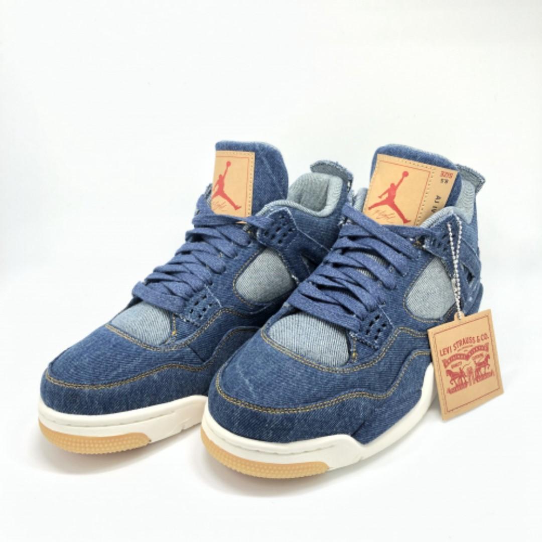 3164b3c316f Air Jordan 4 Retro Levis NRG, Women's Fashion, Shoes, Sneakers on ...