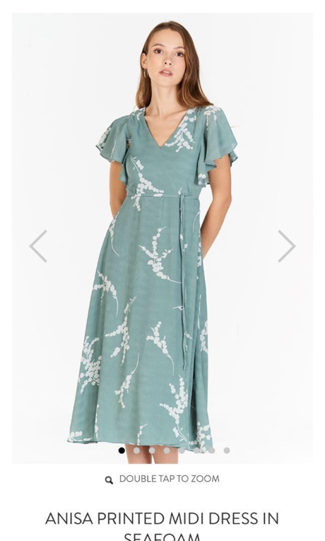 f2d210de5463 Anisa Midi Dress from The Closet Lover (seafoam green) in XL *Brand ...