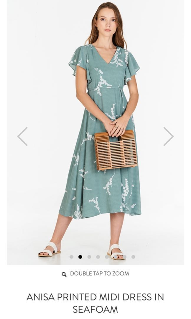 7cd8c41895df Anisa Midi Dress from The Closet Lover (seafoam green) in XL *Brand New*,  Women's Fashion, Clothes, Dresses & Skirts on Carousell