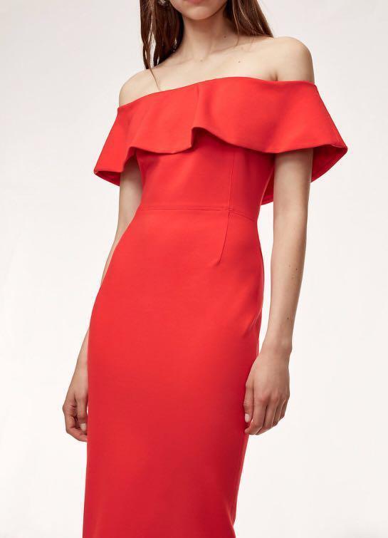 9f26372cd1 Aritzia BABATON Ruslan Dress, Women's Fashion, Clothes on Carousell