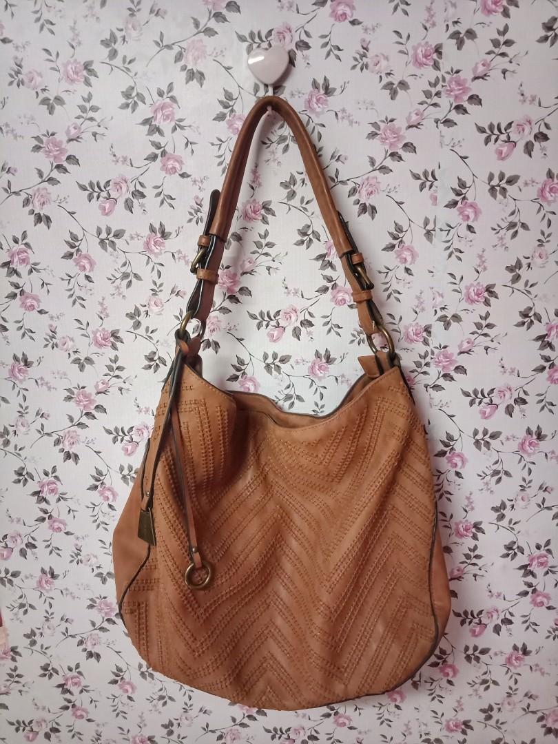 924f83f9646 Authentic Black Rivet Shoulder Sling Vintage Bag