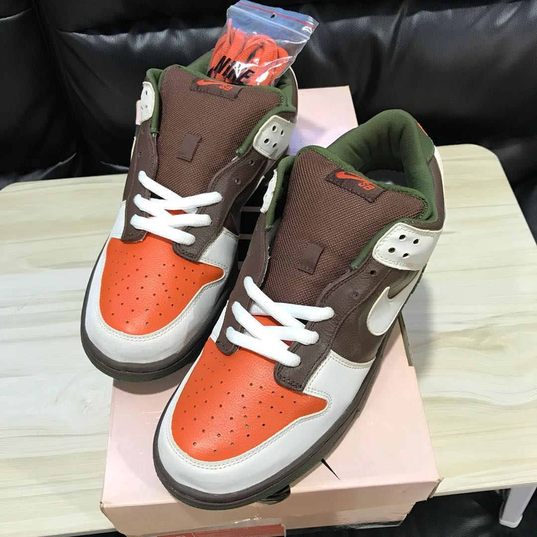 hot sale online f54ca 4a8a3 💯Authentic Nike dunk Low pro Skateboard shoes Oompa Loompa