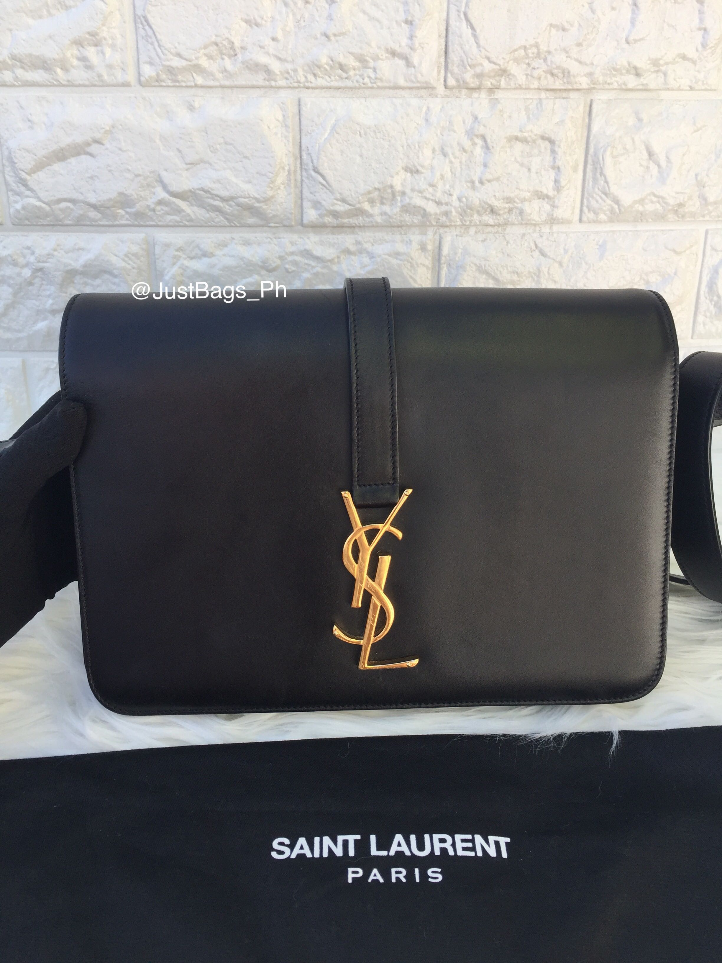 Authentic Saint Laurent Classic Medium Universite Bag 31903d71555c3