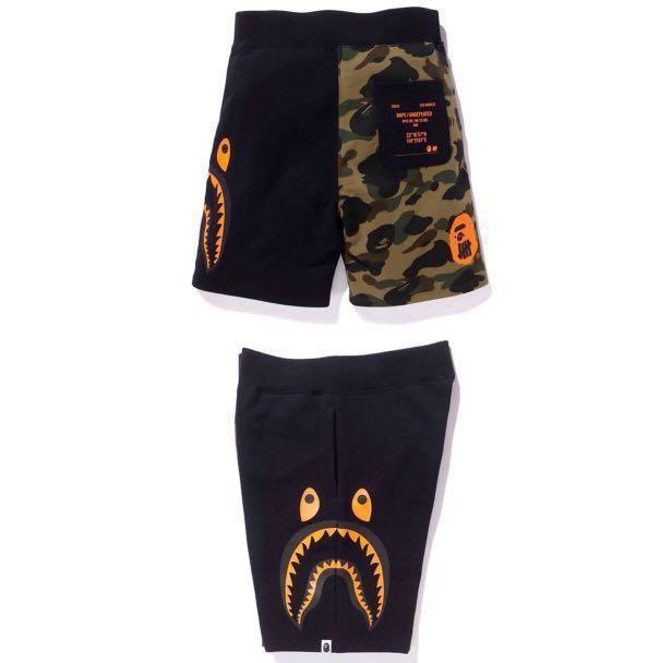 54b197e54dcc Bape x Undefeated Camo Sweat Shorts