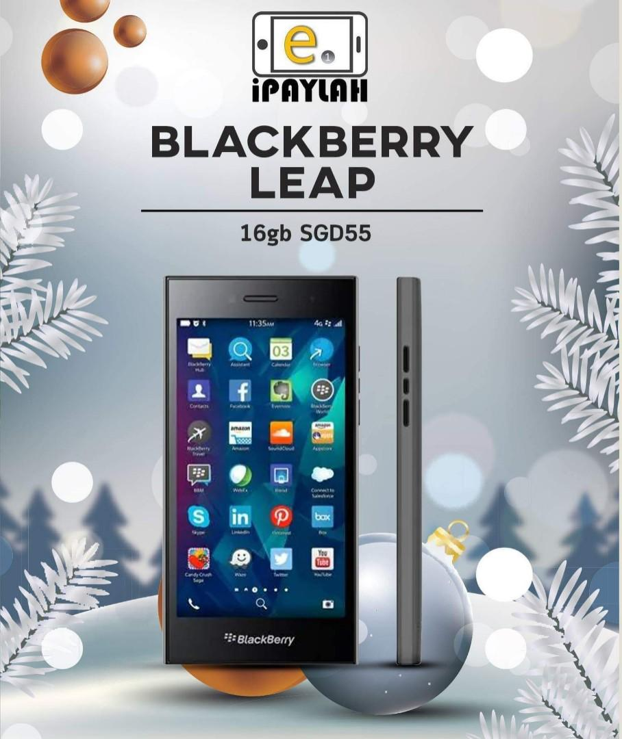 Blackberry Leap (used), Mobile Phones & Tablets, Android