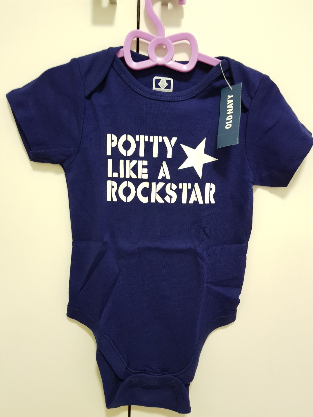 df219d76f06a BN OLD NAVY DARK BLUE Baby Romper