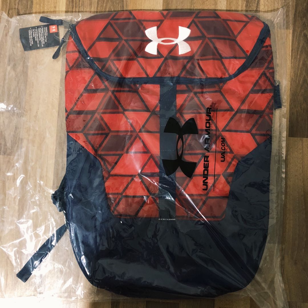 c327f785f493 BNWT Under Armour Expandable Sackpack