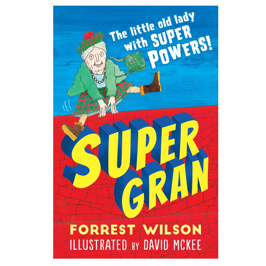 7847a38bff1c Brand New - Paperback] Super Gran By: Forrest Wilson, Books ...
