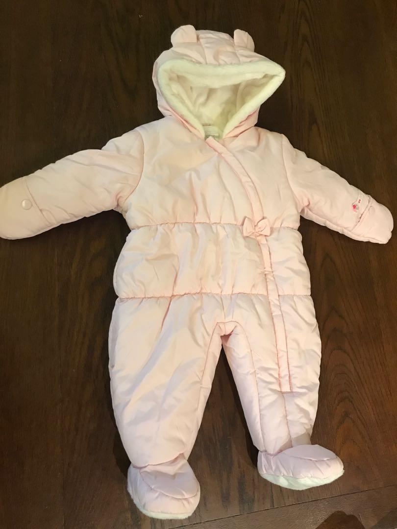 50374df8c Carter s baby girl snowsuit