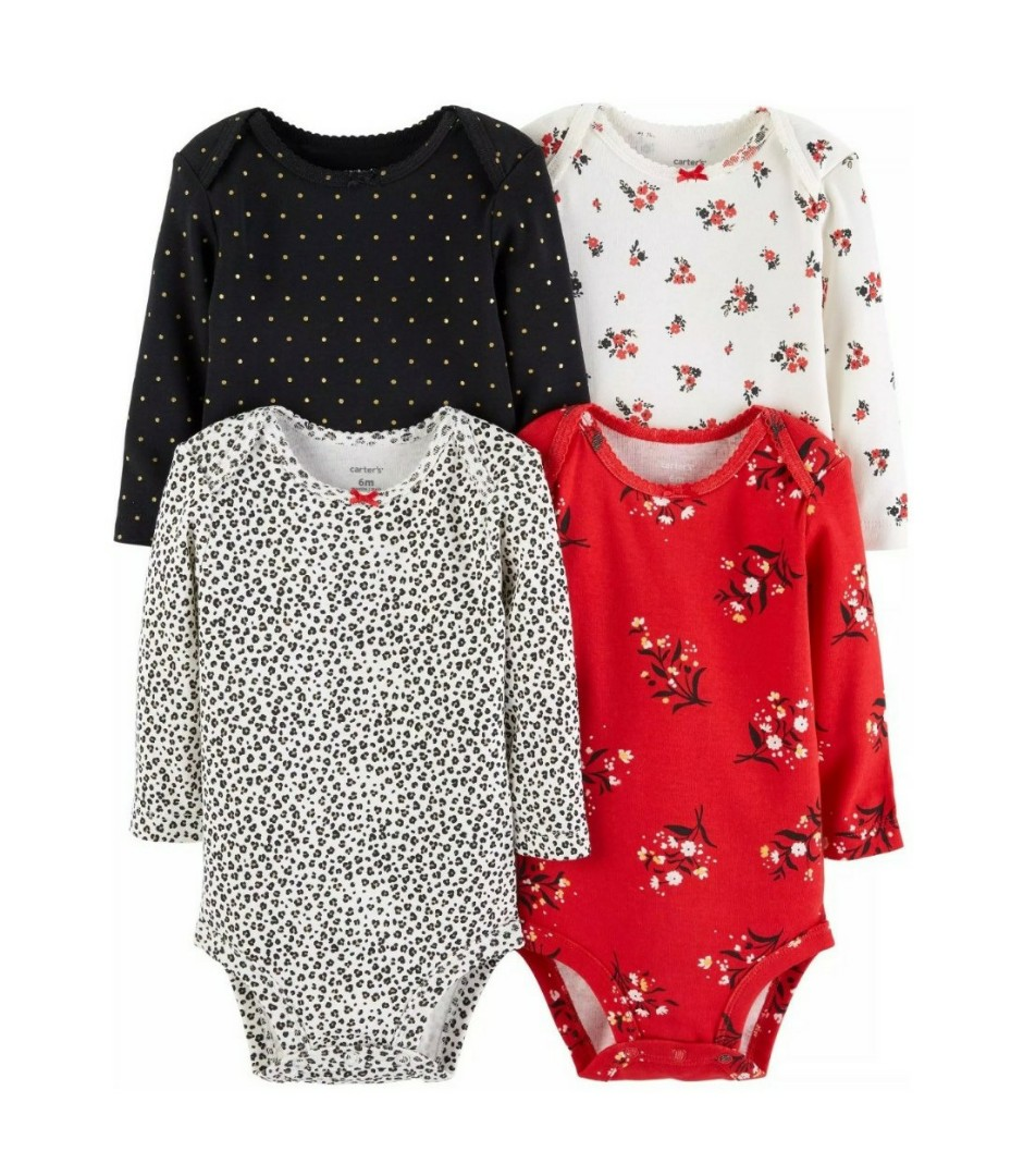 93c9bf34e Carter s Flower Long sleeves bodysuit