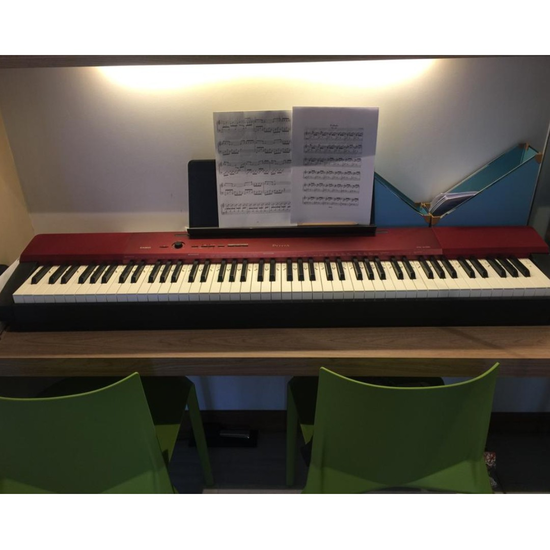 Casio PX-100A Privia Digital Piano Limited Edition Red