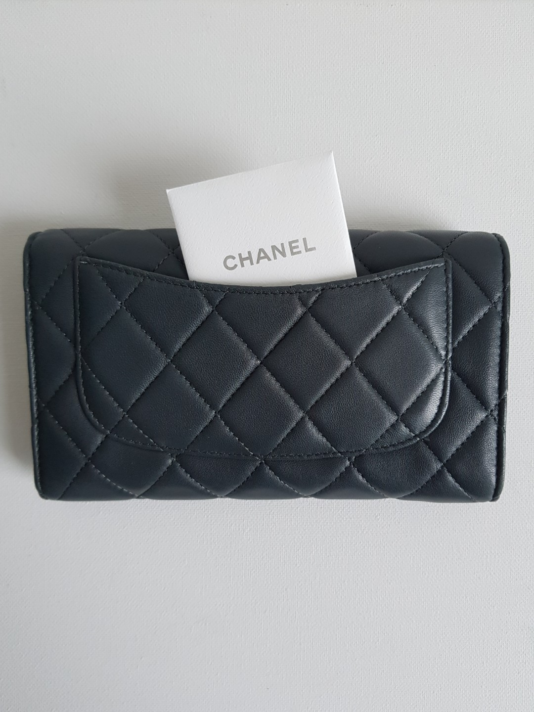 371a644900b7 Chanel Classic Flap Wallet, Luxury, Bags & Wallets, Wallets on Carousell
