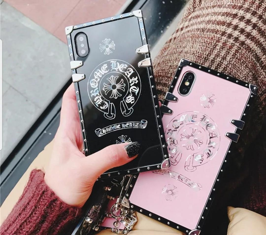 680d8dbcf8e4 Chrome hearts Luxury iPhone Case