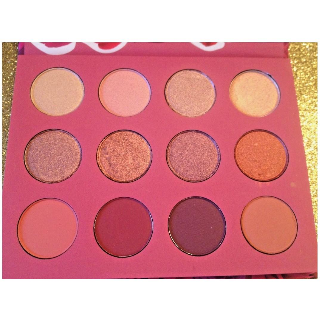 ColourPop Karrueche Fem Rosa She Palette Pressed Eye Shadow Metallic Matte BRAND NEW & AUTHENTIC (NO SWAPS, PRICE IS FIRM, NO HOLDS)