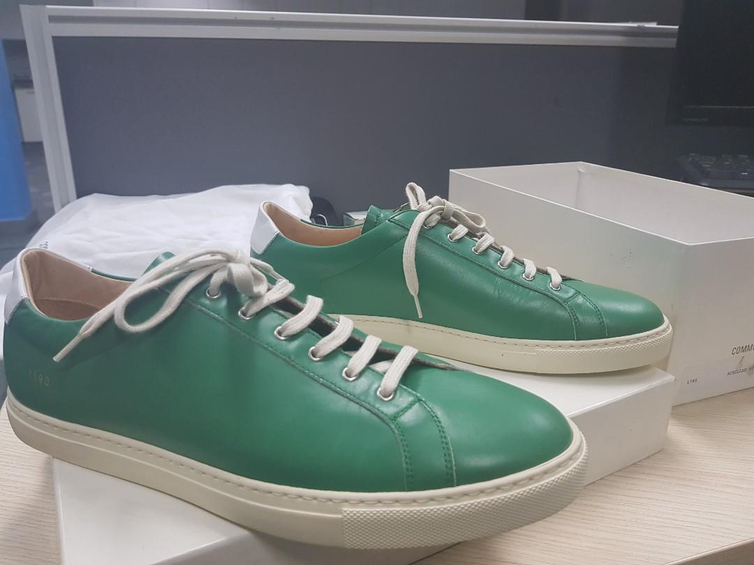 ba0d28dc18a9 Common Projects Achilles low green ( Rare)
